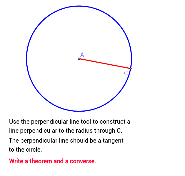 circle theorem 13 geogebra. Black Bedroom Furniture Sets. Home Design Ideas