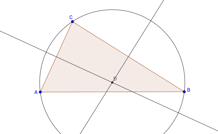 01 Circumcircle of a Triangle