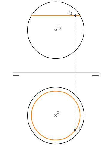 DT2.Diedrico. Esfera. El punto2