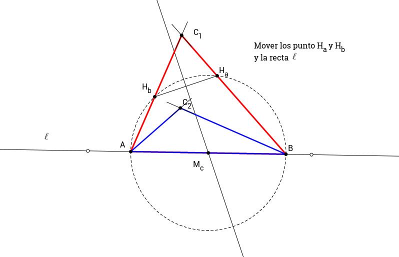 Construcción de triángulo