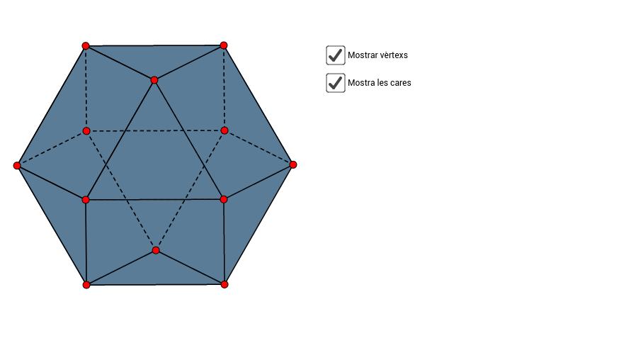 Visualitzar i caracteritzar poliedres