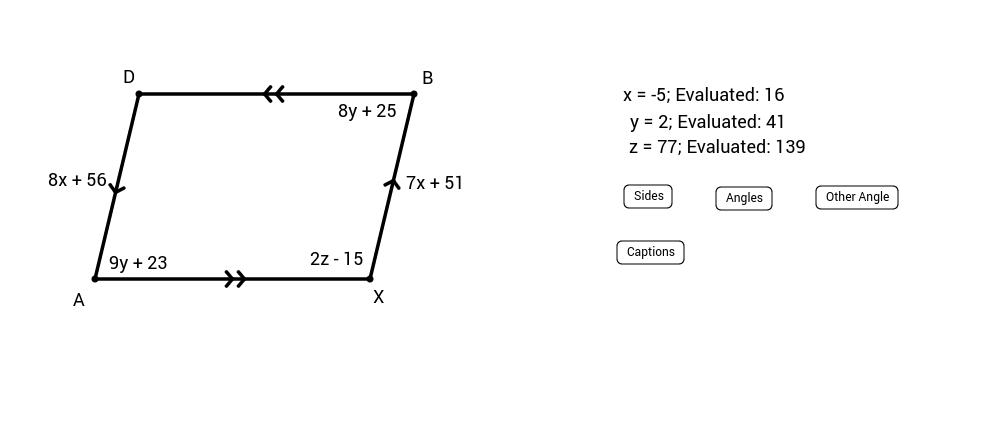 Parallelogram Algebra Generator