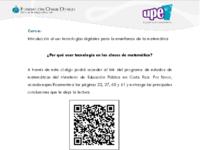 Lectura Por qué usar tecnología en las clases de matemática.pdf
