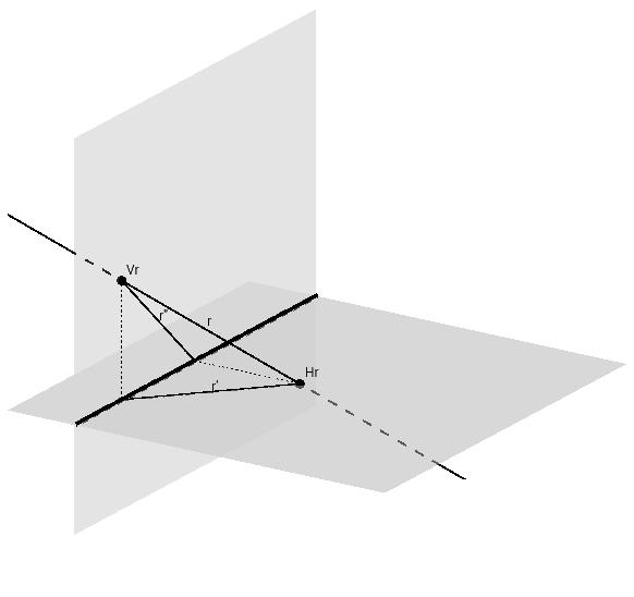Sistema Diédrico: Elementos fundamentales: Recta Oblicua