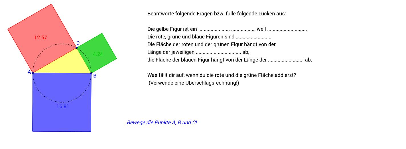 Satzgruppe Pythagoras