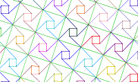 Pythagorean Tessellation # 10 Tiling