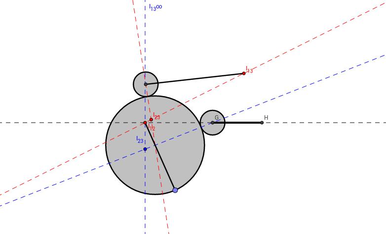 Leva circular excéntrica