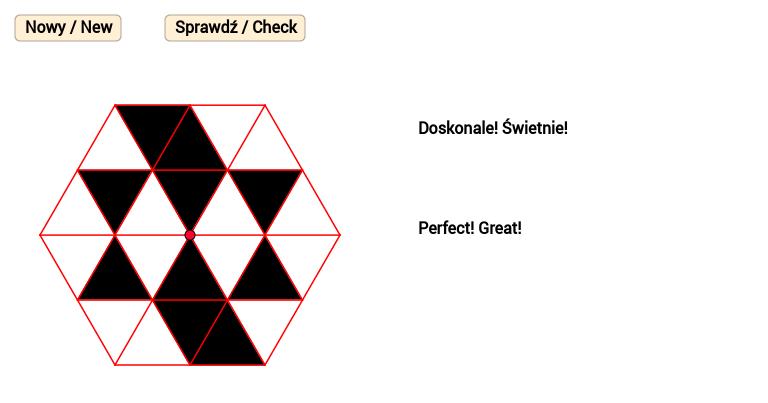 Sześciokątny wzór 5 / Hexagonal pattern 5