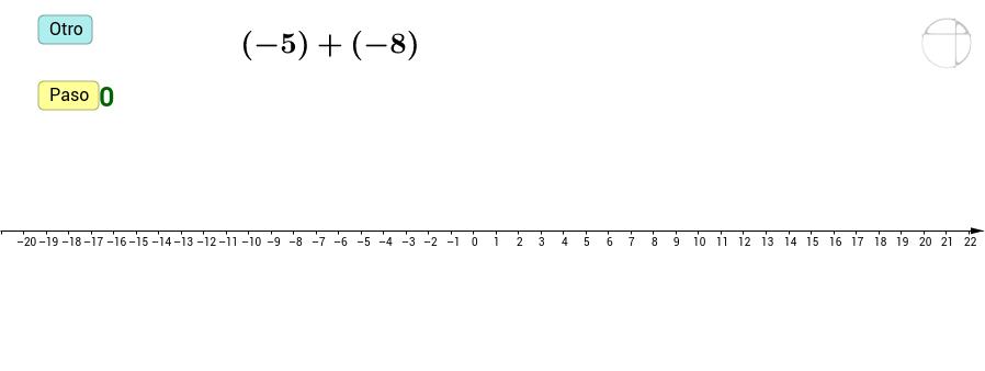 Suma de enteros (gráfica)