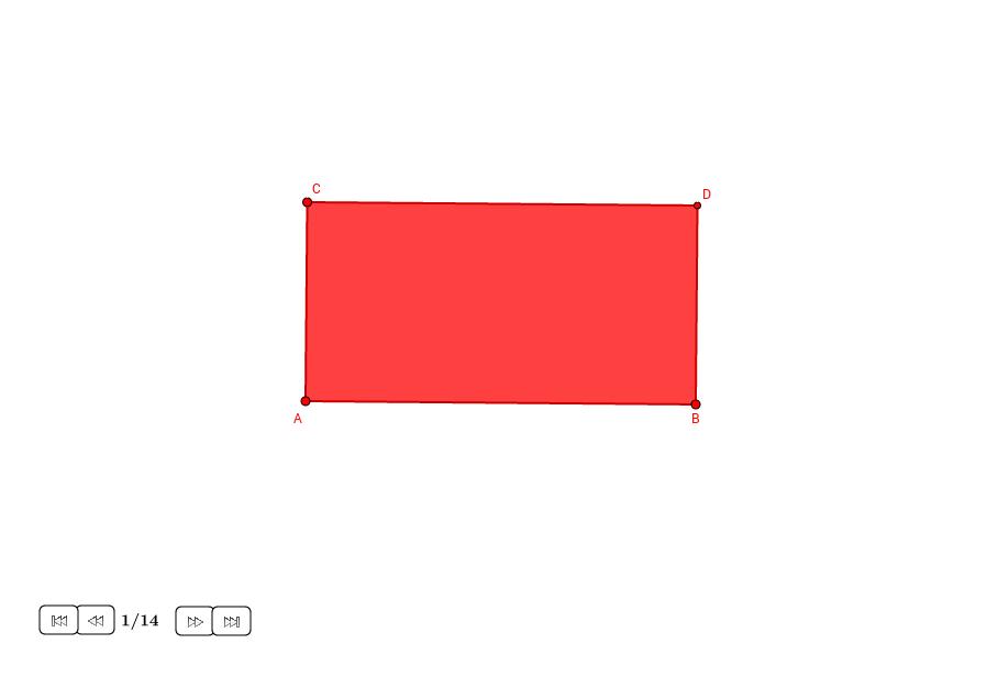 Diagonal y recíproco de un rectángulo