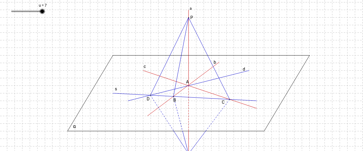 Critère d'orthogonalité d'une droite et d'un plan