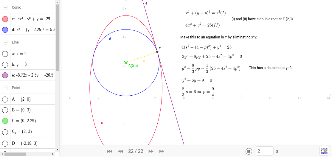 GeoGebra Applet