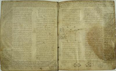 Quantitative analysis of Greek Mathematical Texts