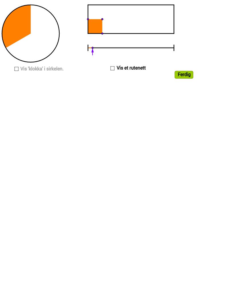 Hvor stor del av rektanglet