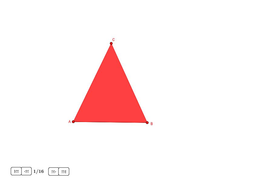 Semicírculo en un triángulo isósceles