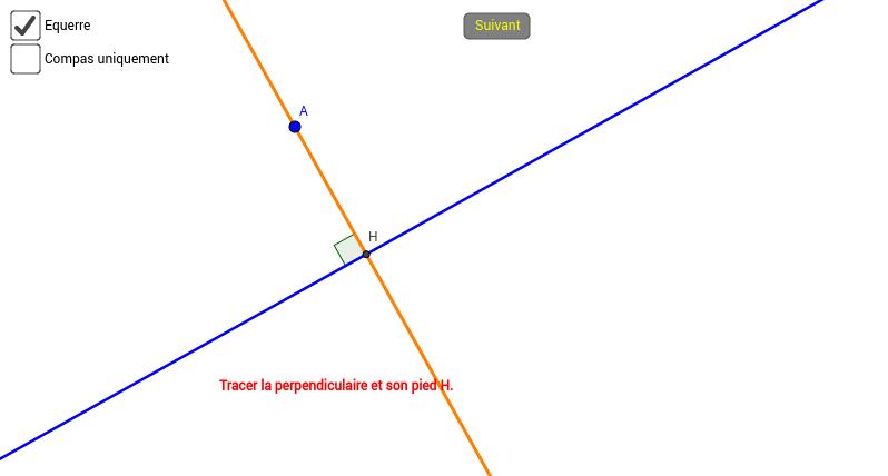 Symétrie axiale aux instruments
