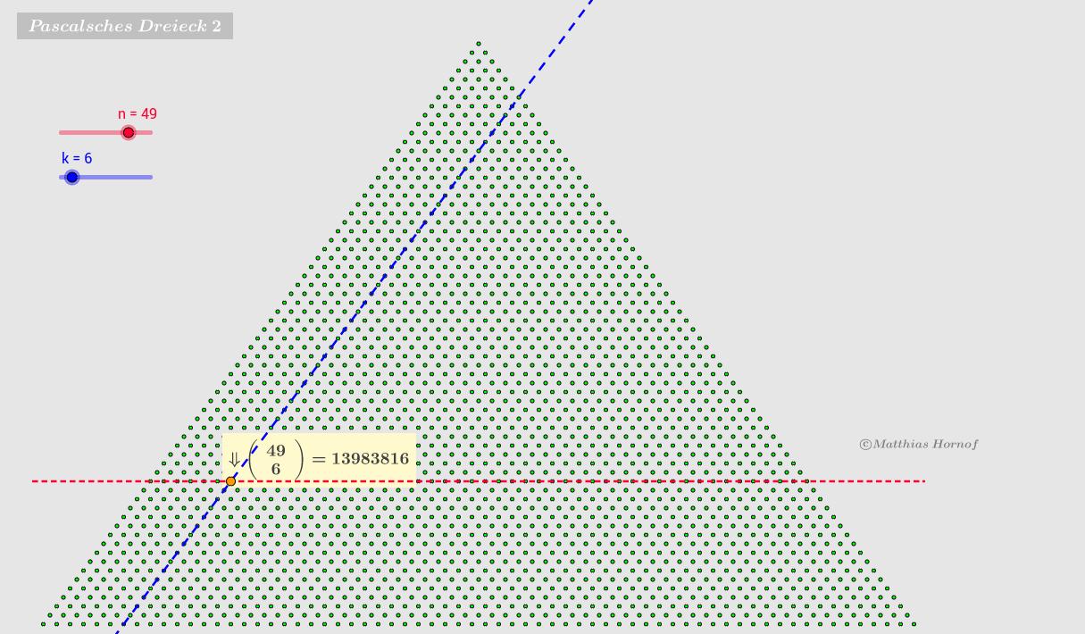 Pascalsches Dreieck 2
