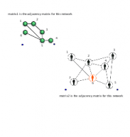 Small Network Adjacency Matrices