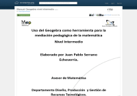 Manual intermedio de Geogebra