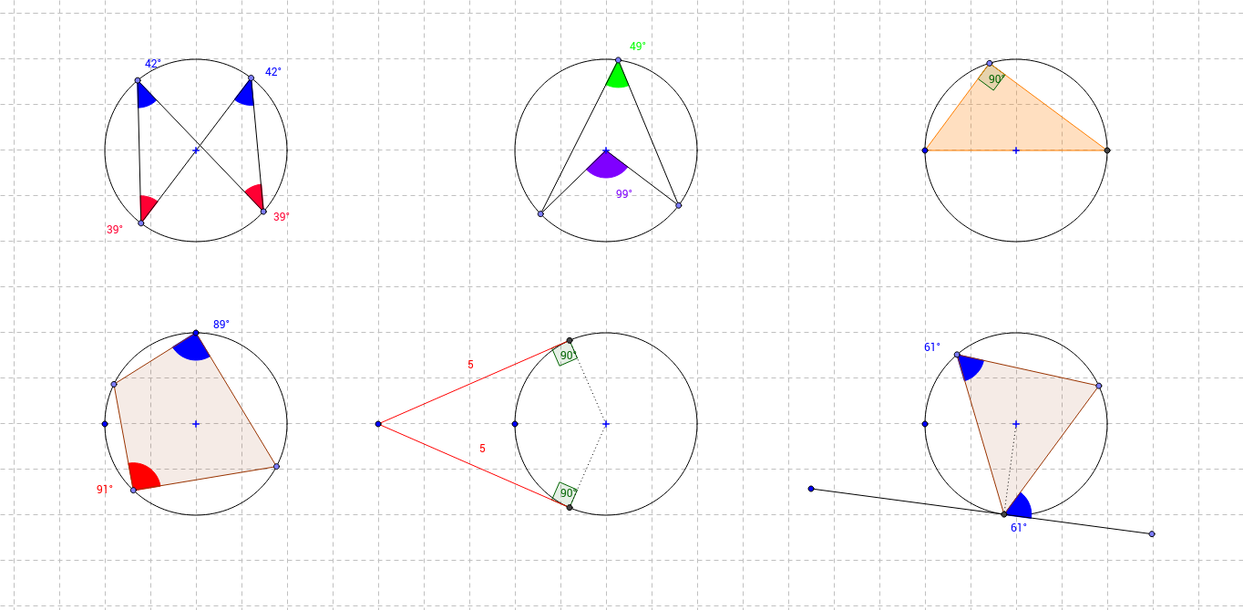 Circle Theorems in One File