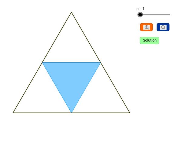 Geometric Evaluation of Infinite Sums