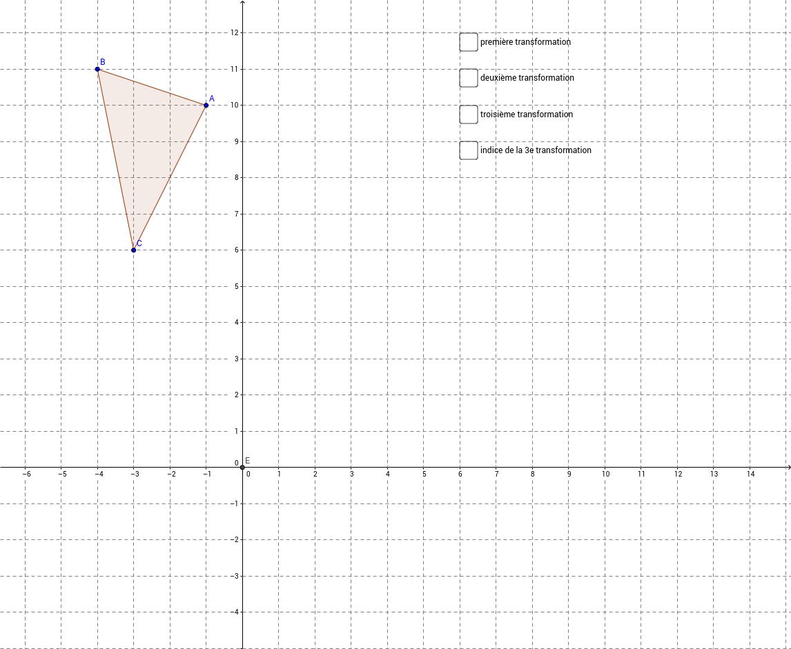 Transformation géométrique