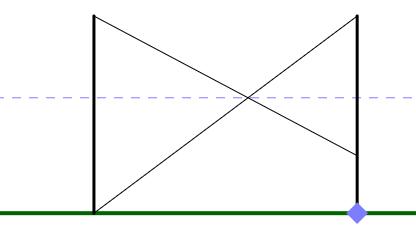 Stolper med snore (stor firkant)
