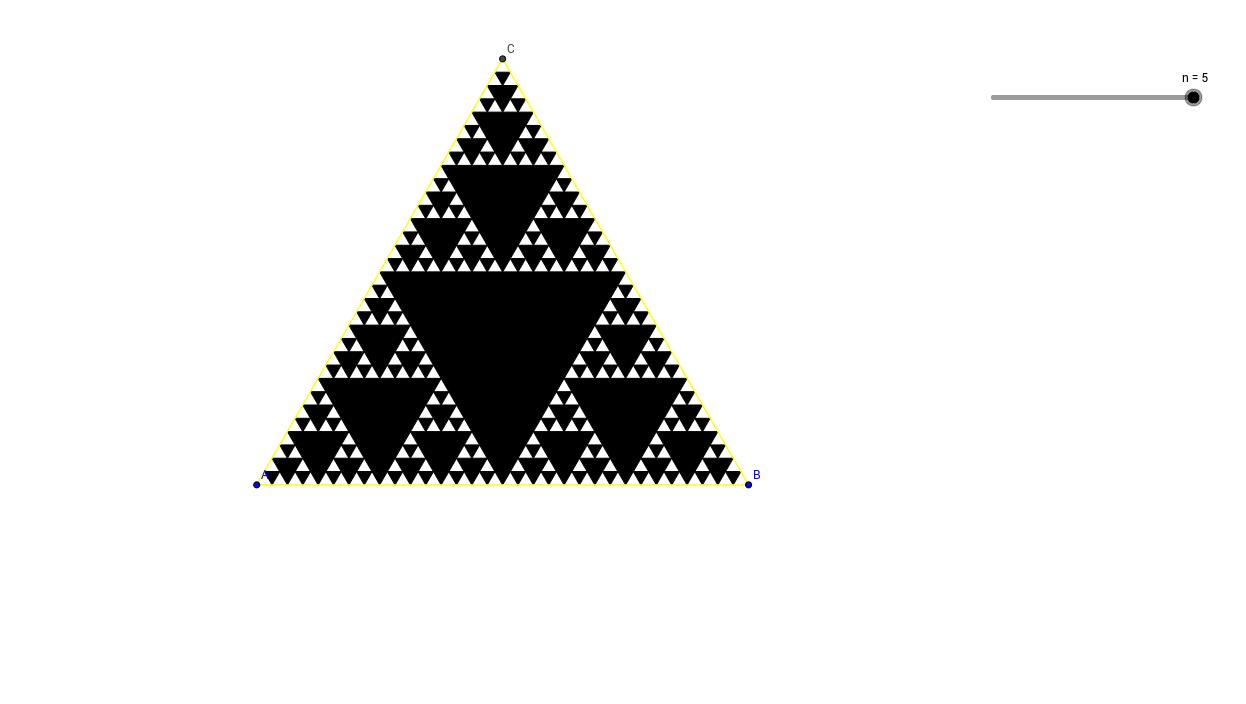 Sierpinski háromszög