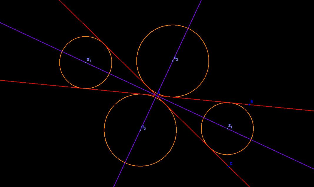 Množina středů kružnic dotýkajících se různoběžek
