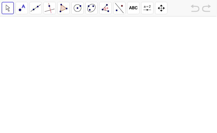 Konstruiere nun selber die Streckensymmetrale