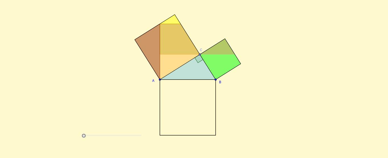 Teorema de Pitágoras demostración geométrica 26 de Loomis