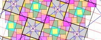 Pythagorean Tessellation # 36 Tiling