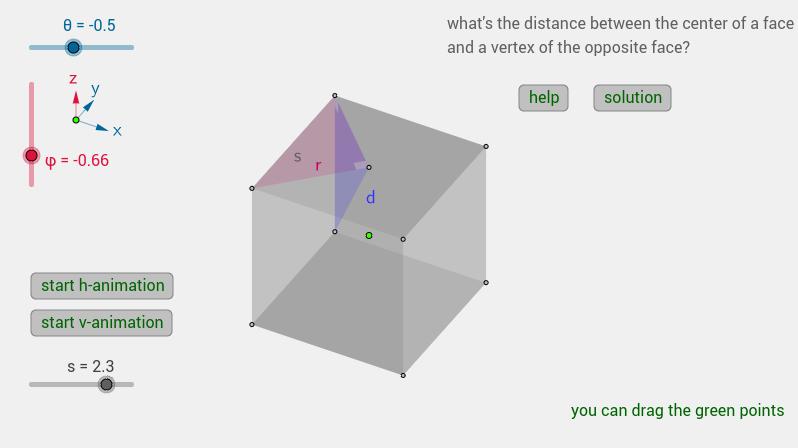 a cube...