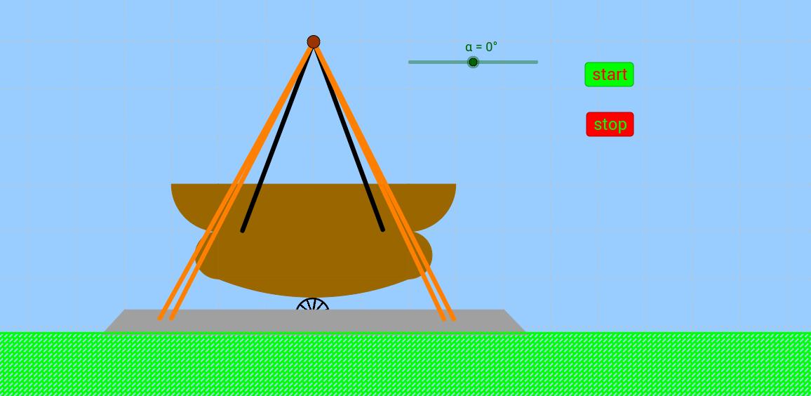 vikingeskib, animation