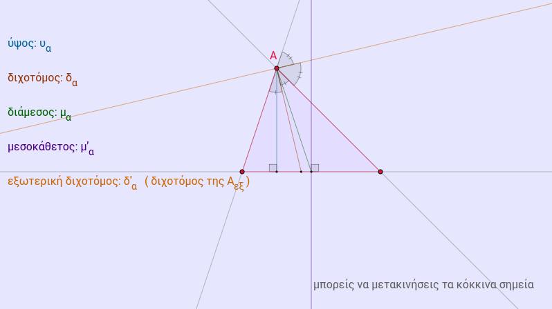 στοιχεία τριγώνου-1