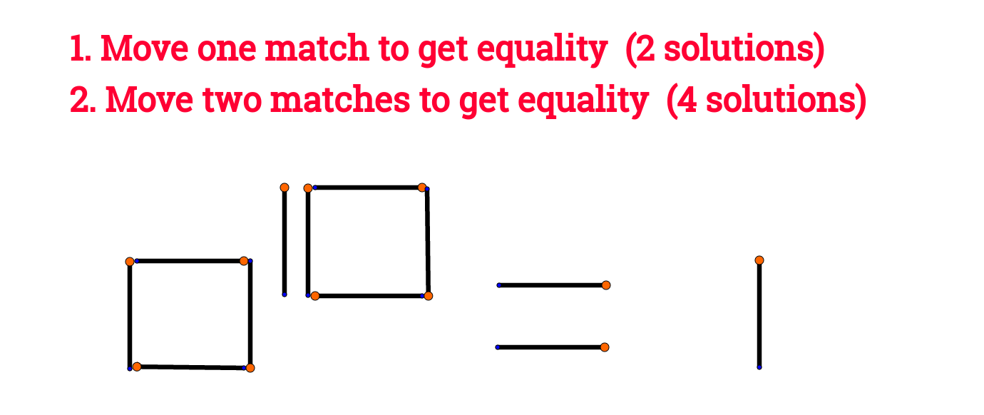 Mowe two matches to get equality