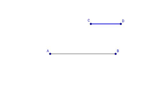 Elementa I.3: Pitemmästä janasta leikataan lyhyempi jana