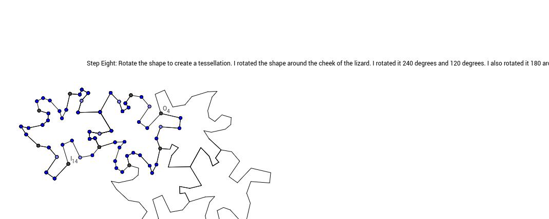 Hexagonal Tessellation Step 8
