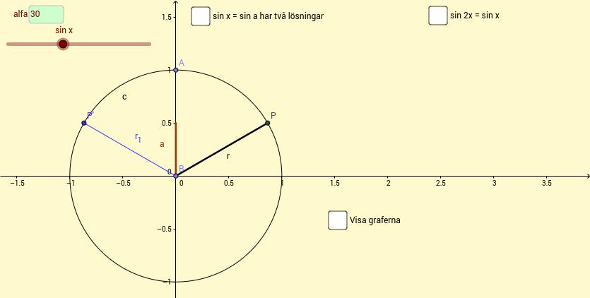 sin 2x = sin x