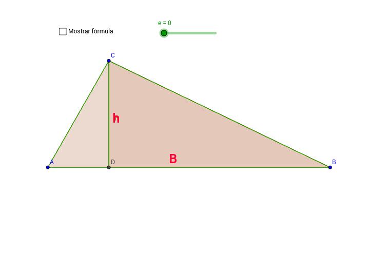 Área del triángulo (Acutángulo)