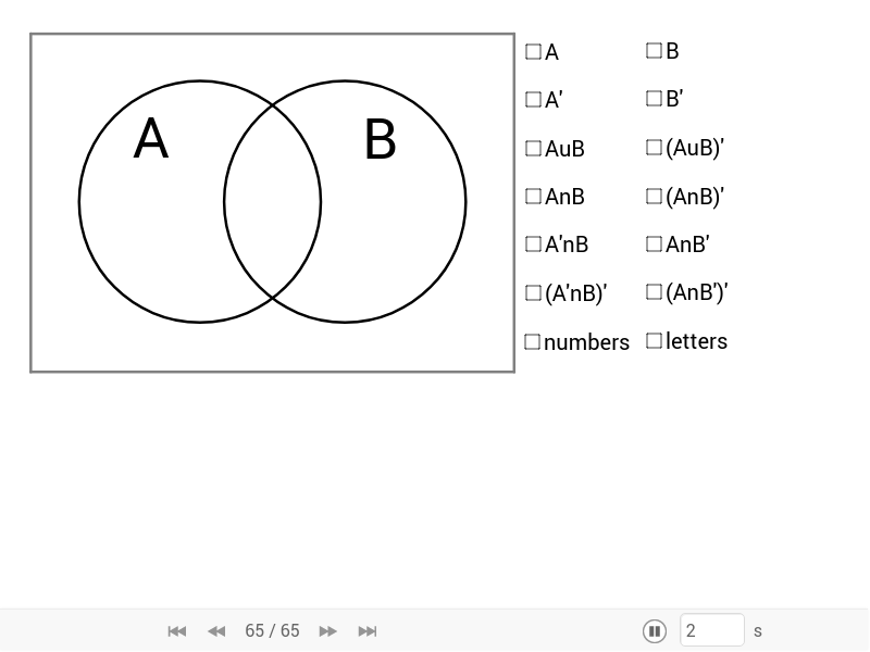 Lau Venn Diagrams For Set Theory Geogebra