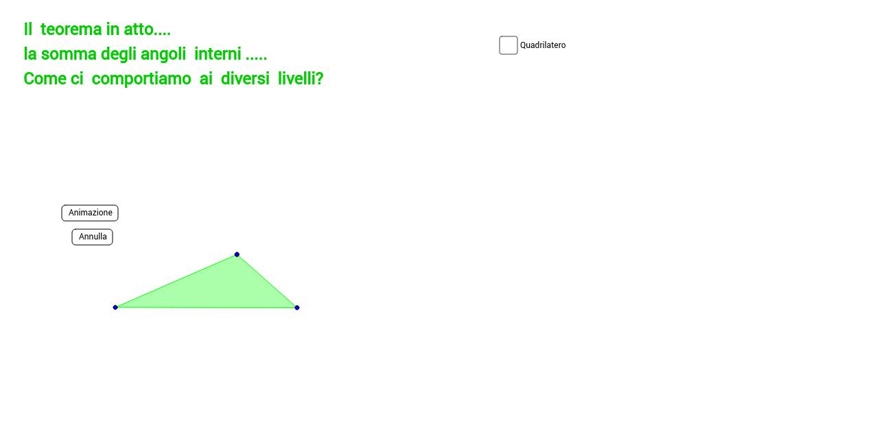 Tassellazione con un triangolo generico