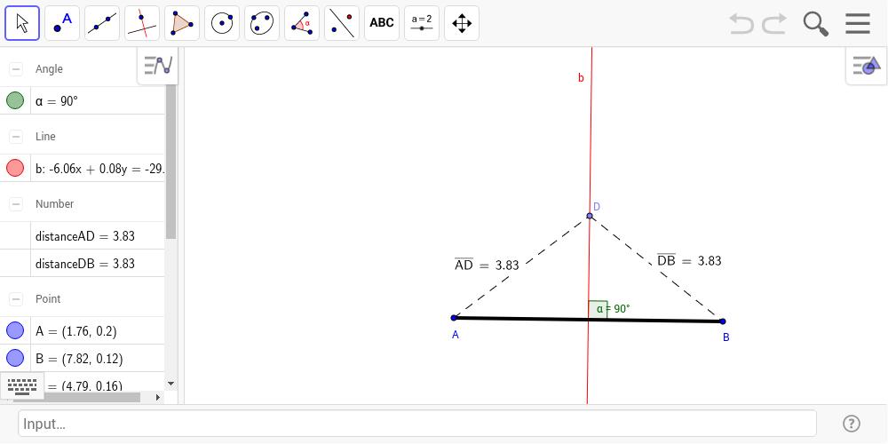 1 Perpendicular Bisector