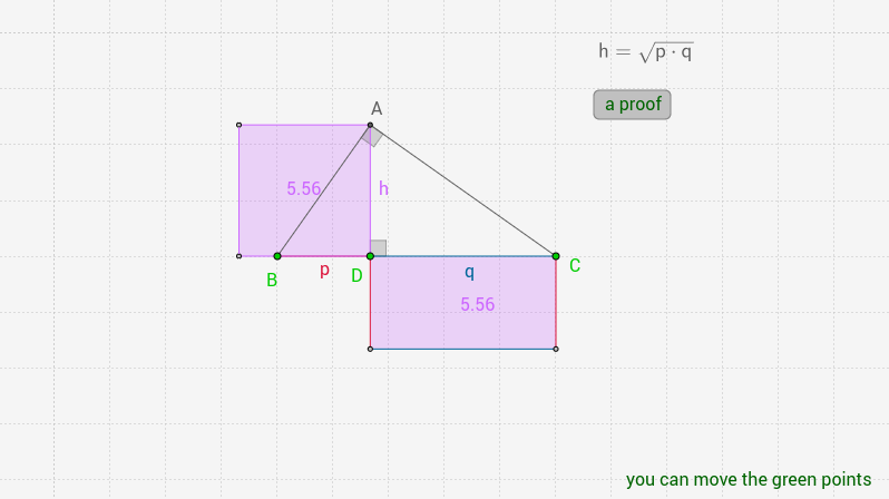 geometric mean theorem