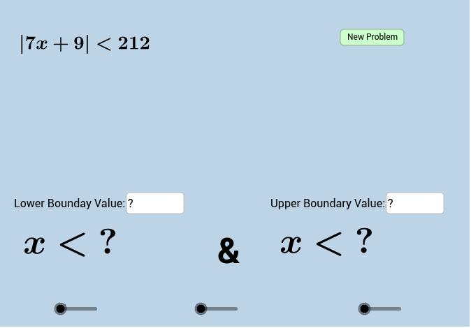 solving absolute value inequalities quiz 1 geogebra. Black Bedroom Furniture Sets. Home Design Ideas