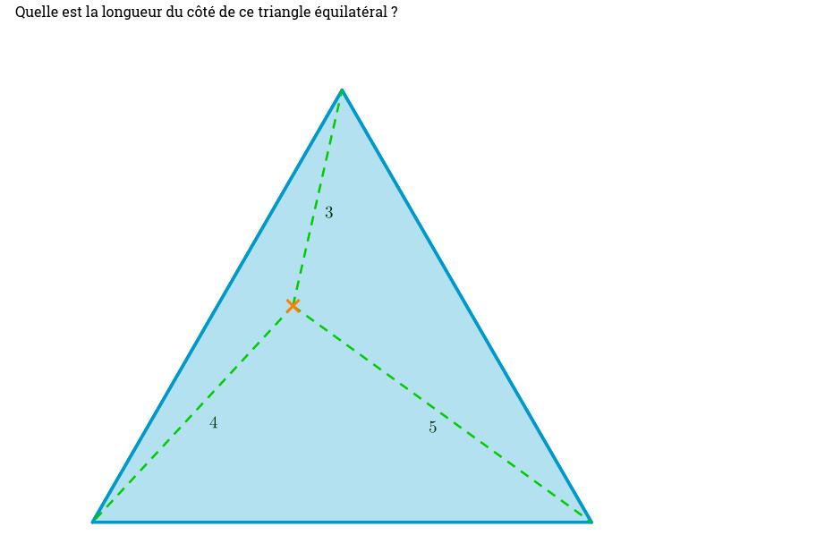 Le point dans le triangle