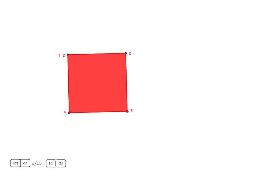 Rectángulos raíz en un cuadrado