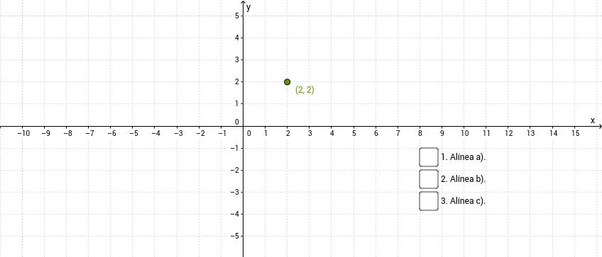 Equação de uma reta