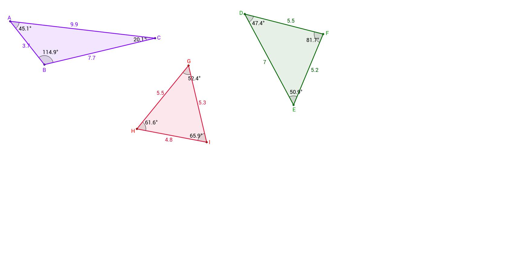 Triangle Inequalities