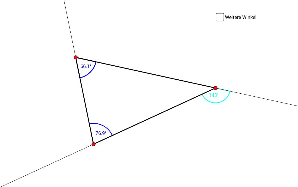 Kopie von Innen- und Aussenwinkel am Dreieck